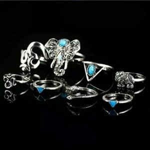 Jewelry - 8 piece Midi Ring set LAST ONE - BUNDLE: 3 for $18